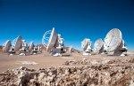 Il radiotelescopio ESO ALMA in Cile