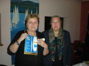 Fabiana Romanutti con Adriana Gerdina