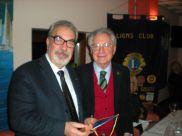 Sergio Razeto con Carlo Borghi
