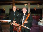 Stefano Casaccia (flauto) con Marco Zanettovich (violino)