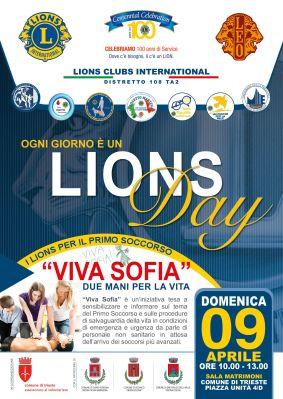Lions Day Locandina