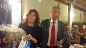 Dott.ssa Chiara Simon con Bruno Iurcev