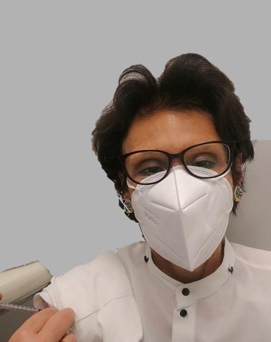 Cristiana Vidali Vaccinazione anti COVID